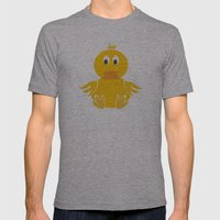 Quack Quack Duck Mens Fitted Tee Athletic Grey SMALL