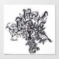 Four Way Branch Canvas Print