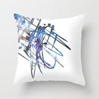 Acuatik Throw Pillow