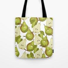 Pears Pattern Tote Bag