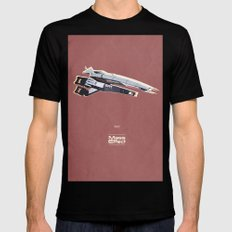 Mass Effect Black SMALL Mens Fitted Tee