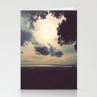 Overcast Bay  Stationery Cards