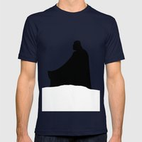 The Empire Strikes Back Mens Fitted Tee Navy SMALL