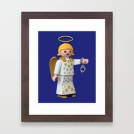 Dirty Up That Halo Framed Art Print