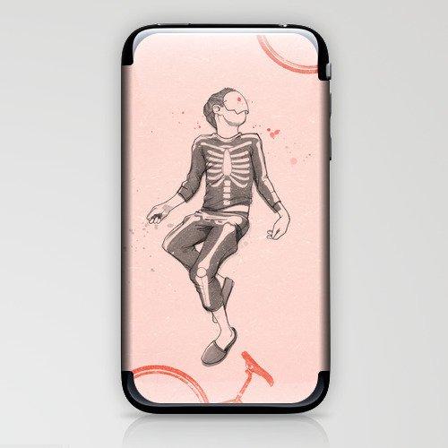 """Dude, wake up..."" iPhone & iPod Skin"
