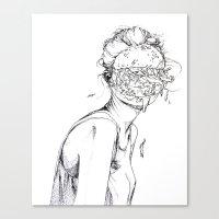 6 pieces_5 Canvas Print