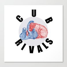 Cub Rivals Canvas Print