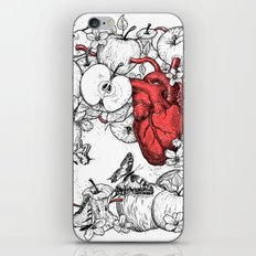 Coronary Apples iPhone & iPod Skin