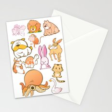 Animals! Stationery Cards