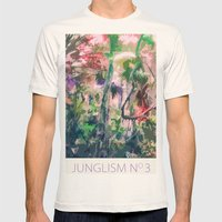 Junglism 3 Mens Fitted Tee Natural SMALL