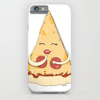 iPhone & iPod Case featuring Sexy Pizza by Rock On Robot