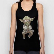 Yoda Style Unisex Tank Top