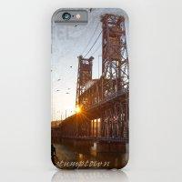 Portland Steel Bridge iPhone 6 Slim Case
