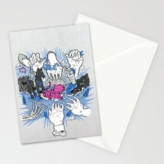 Foul Fingers Stationery Cards