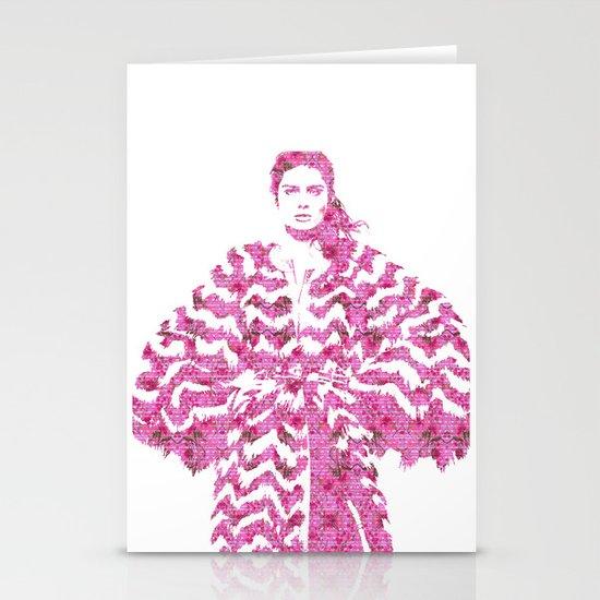 Chevron: Fashion Stationery Card