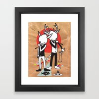 TASTE OF OUR THUMBS - TH… Framed Art Print