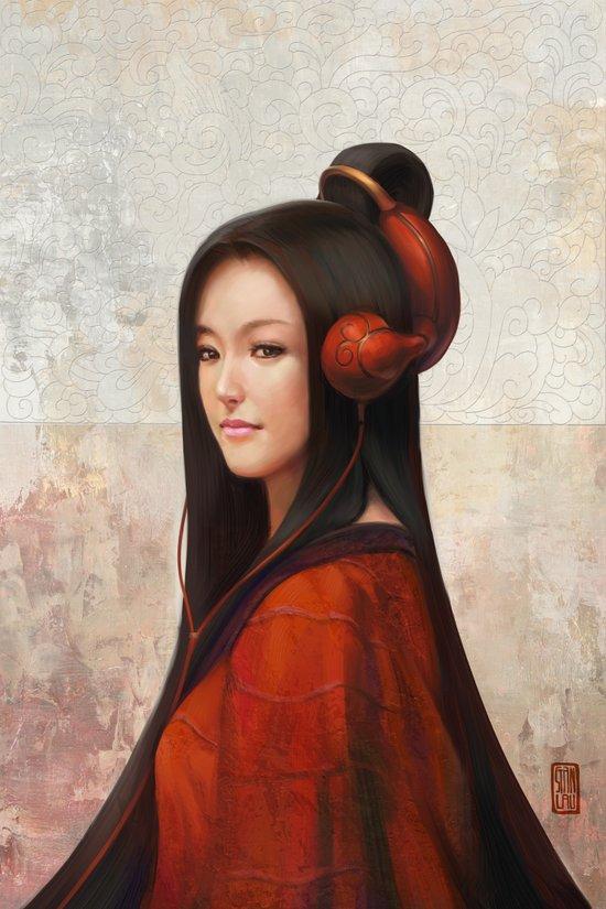 Pepper Orient Art Print
