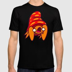 Poke A Derp 3 Mens Fitted Tee Black SMALL