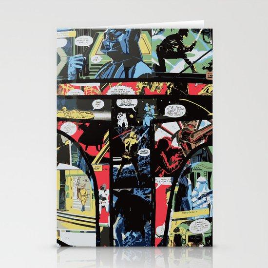 Boba Fett Collage Stationery Card