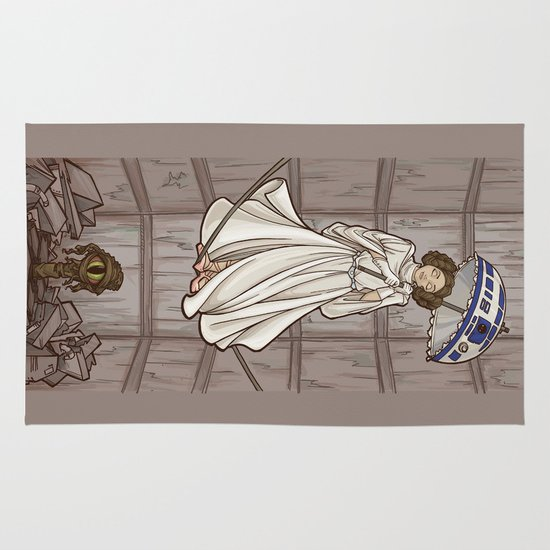 Leia's Corruptible Mortal State Area & Throw Rug