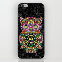 Owl Zentangle Floral   iPhone & iPod Skin