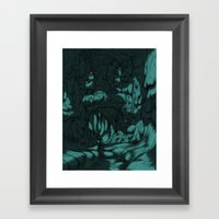The Search For Pirx On T… Framed Art Print