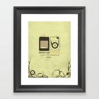 8 Track Framed Art Print