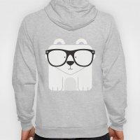 Hipster Polar Bear Art P… Hoody