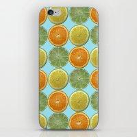 Lemons, Limes, Oranges, Oh my!  Citrus Photography iPhone & iPod Skin