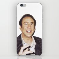 Nicolas Cage iPhone & iPod Skin