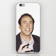 Nicolas Cage iPhone & iPod Skin