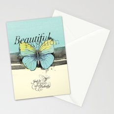 Beautiful Papillon ( butterfly ) Stationery Cards