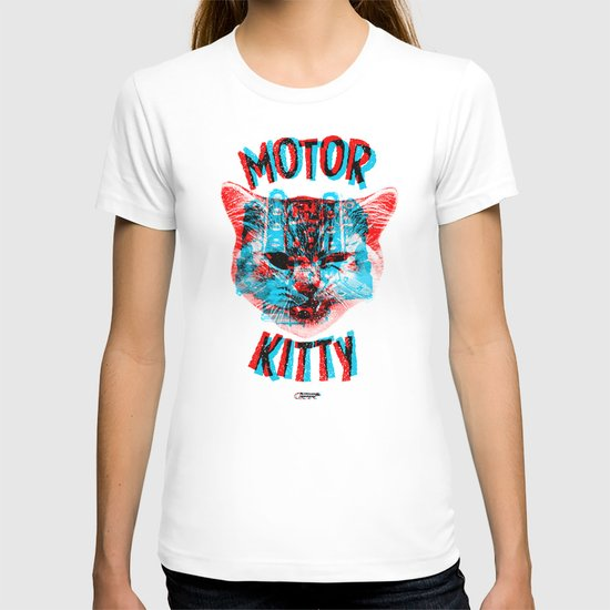 Motor Kitty T-shirt