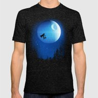 Let's Have Fun Mens Fitted Tee Tri-Black SMALL