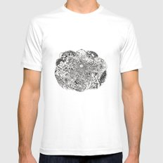 Inwards Mens Fitted Tee White SMALL