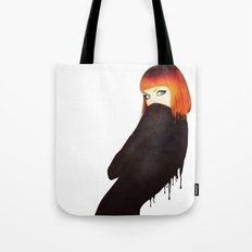 The Girl 5 Tote Bag