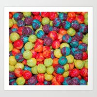 Cereal Art Print