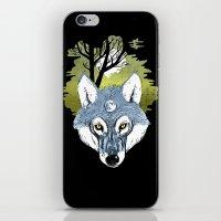 Wolf Phase iPhone & iPod Skin