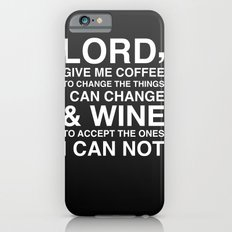 Lord give me wine Slim Case iPhone 6s