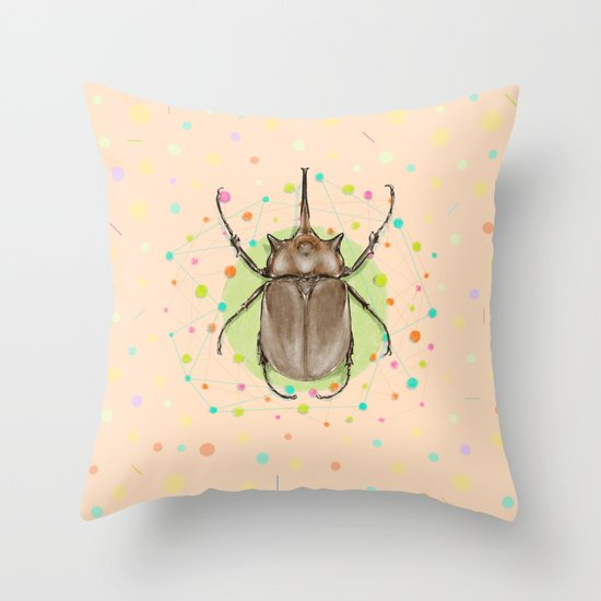 Insect I Throw Pillow