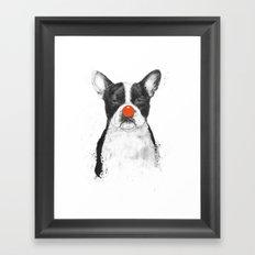 I'm not your clown Framed Art Print