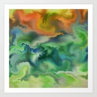 Movement Of The Natural … Art Print