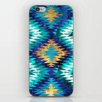 Inverted Navajo Suns iPhone & iPod Skin