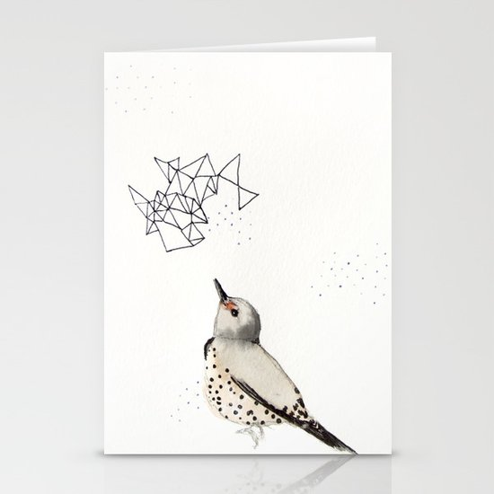 Northern Flicker Stationery Card