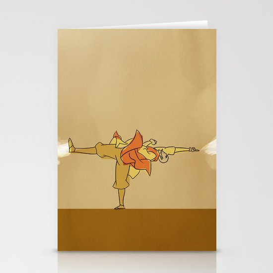 Avatar Aang Stationery Card