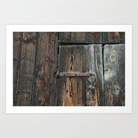 The right angle Art Print
