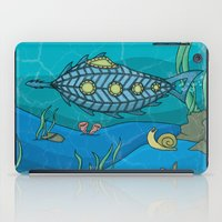 Nautilus under the sea iPad Case