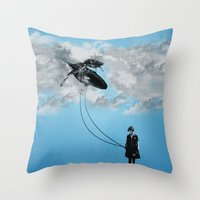 Defying Gravity Throw Pillow