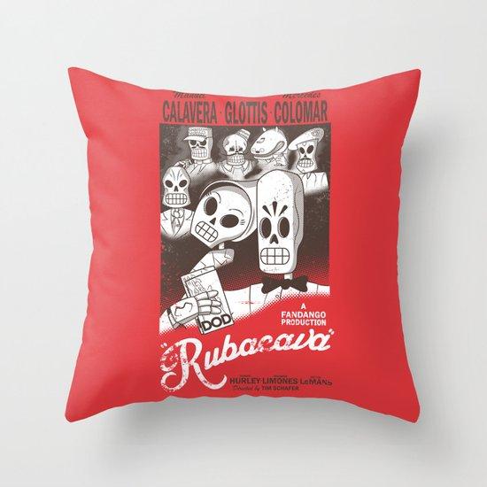 Rubacava Throw Pillow
