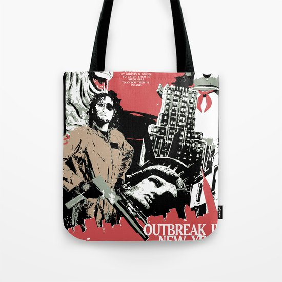 Outbreak in New York Tote Bag